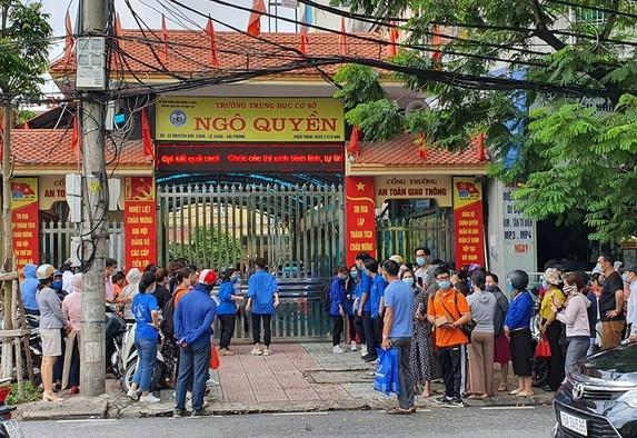 Hải Phòng Khởi tố vụ án để điều tra việc thu chi tại trường THCS Ngô Quyền